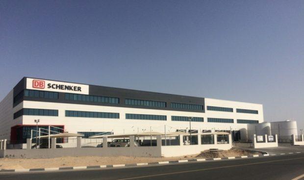 DB Schenker otvoril logistické centrum na Blízkom východe