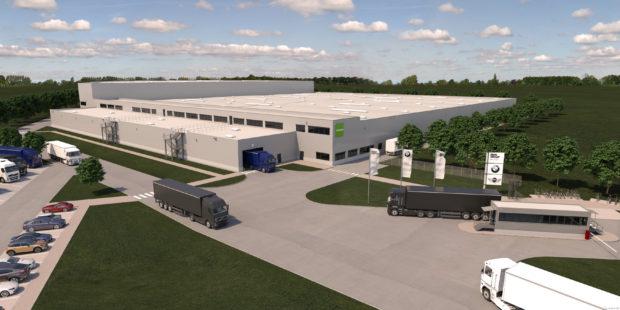 Goodman buduje v Nemecku nové distribučné centrum pre BMW