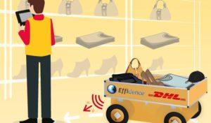 Roboty v DHL sú najlepšími spoločníkmi pre vychystávanie