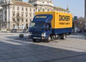 Dachser testuje nové riešenia pre mestskú logistiku