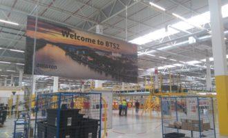 Amazon otvoril logistické centrum v Seredi