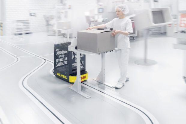 Nové AGV od spoločnosti SSI Schäfer
