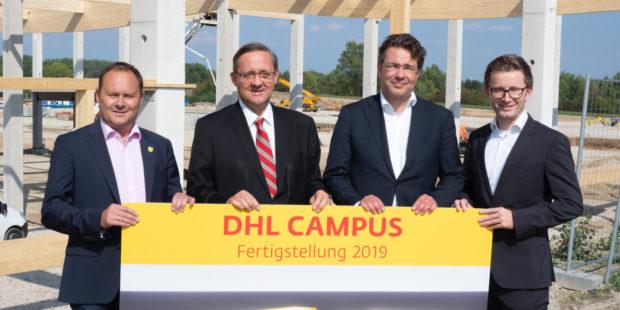 DHL stavia logistické centrum vo Viedni