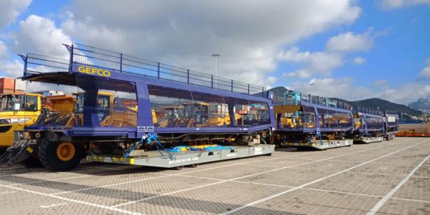 GEFCO dodáva vagóny v marockom meste Kenitra