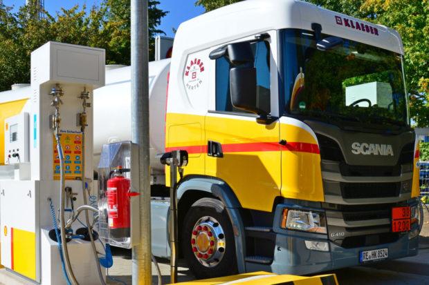 Scania podporuje nákladné vozidlá na plyn
