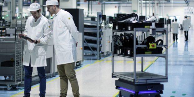 Roboty MiR200 optimalizujú logistiku v slovenskom závode Visteon