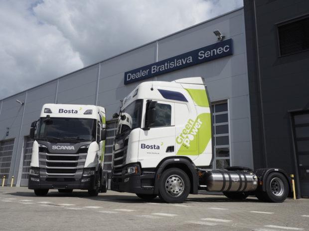 Spoločnosť BOSTA smeruje k udržateľnej preprave