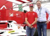 SSI Schäfer angažuje Micka Schumachera ako ambasádora svojej značky