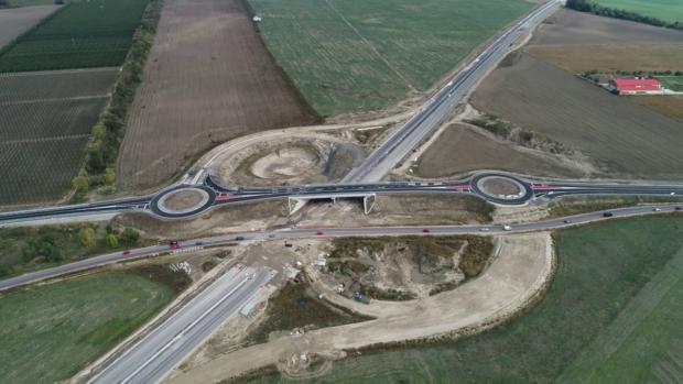 Stavbári odovzdali do užívania novú križovatku Dunajská Lužná
