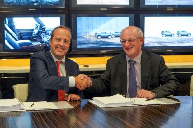 DHL Supply Chain obnovuje zmluvu s Jaguar Land Rover