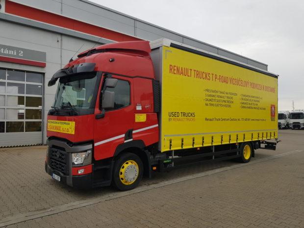 Renault Trucks T P-ROAD pre firmu Autodoprava Lišákmax