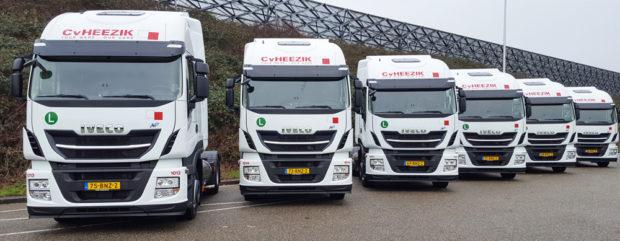 Nové nákladné vozidlá IVECO LNG pre spoločnosť C. van Heezik Transport