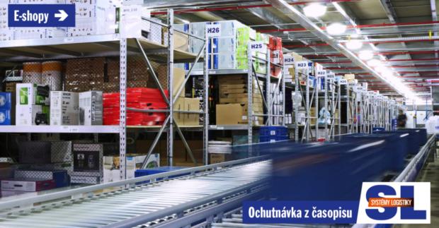 E-SHOPY: Prichádza éra automatizácie a robotizácie logistiky v e-commerce