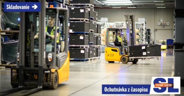 SKLADOVANIE: Výber vozíkov je riadený účelom, topológiou a zariadením skladu