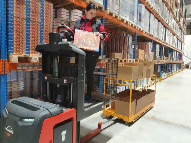 Kontraktná logistika pre hračkársky priemysel v podaní Geis
