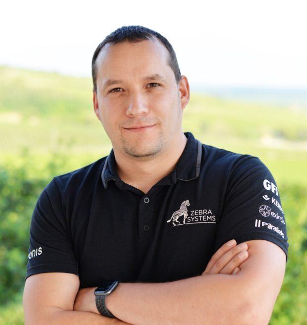 Aleš Hok je obchodným riaditeľom ZEBRA SYSTEMS