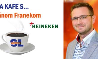 Na kafe s… Jánom Franekom, riaditeľom logistiky a zákazníckeho servisu spoločnosti Heineken Slovensko