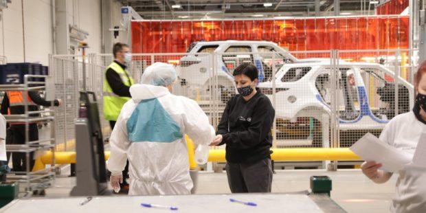 Jaguar Land Rover testuje v Nitre zamestnancov a dodávateľov