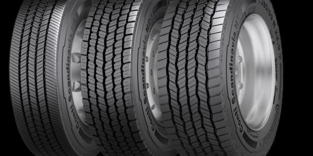 Zimné pneumatiky Continental prispievajú k úspechu logistických firiem