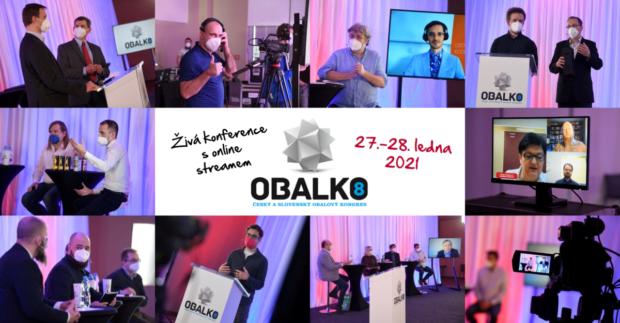 Kongres OBALKO 8 inspiroval stovky obalových profesionálů online