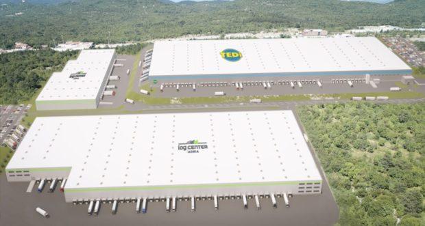 Začiatok výstavby logistického centra LOG CENTER ADRIA