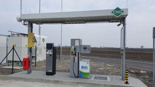 Na rýchlostnej ceste R7 pribudli dve nové plniace stanice CNG