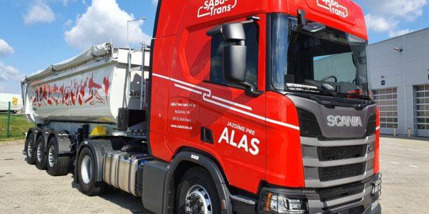 Dvadsaťjeden vozidiel Scania pre SaBaTrans