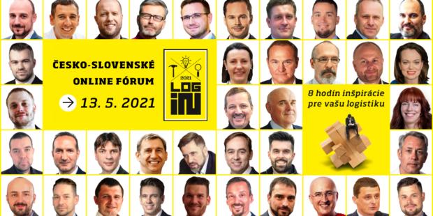 LOG-IN už 13. mája! Nechajte sa inšpirovať od českých a slovenských logistických profesionálov