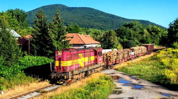 Nákladné vlaky na gemerských lokálkach