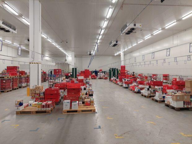 Terno rozširuje distribučné centrum osklad sčerstvými potravinami