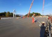 Práce na výstavbe mosta na D1 pri Podbanskom napredujú