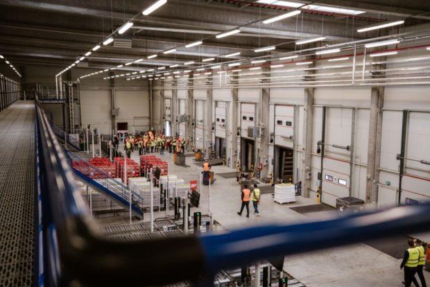 Najmodernejší plne automatizovaný sklad pre Coca-Cola HBC Česko a Slovensko